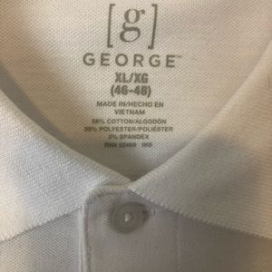 George Polo Short Sleeve Shirt Brand New XL
